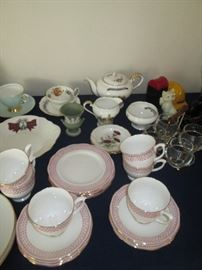 Luncheon tea sets