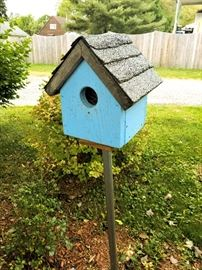 One of many bird houses
