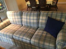 Craftmaster Sofa Blue & Green