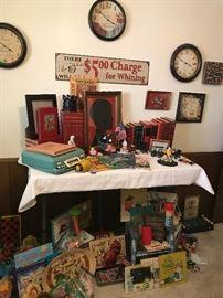 Some of children's keepsake room.