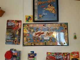 Mighty Mouse Game Framed , 1957 CBS