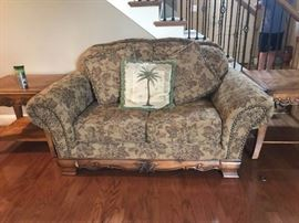 """#3Ashley Furniture Loveseat 70""""  As IS $75.00"""