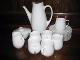 Wedgwood coffee/tea set