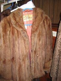 Vintage Dittrich fur jacket