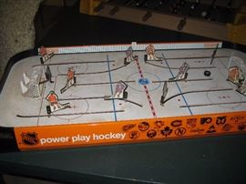 Coleco NHL Hockey game