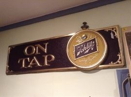 1960's Schlitz Bar Sign