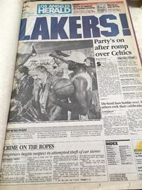 Laker news articles