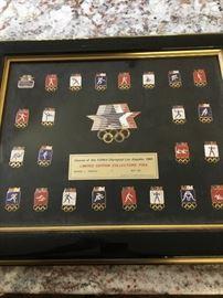 1984 Olympiad LA collector pins