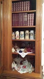Beer Steins, Glass Baskets,  Britannica