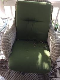 Deck (wicker) chair 1 of 2