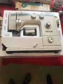 #7Necchi Sewing Machine  Model 535FA  Model FB $150.00