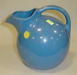 Pottery ball pitcher
