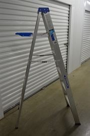 Werner 6 ft Ladder http://www.ctonlineauctions.com/detail.asp?id=641895