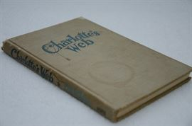 1st Edition Charlotte's Web by E.B. White http://www.ctonlineauctions.com/detail.asp?id=641885