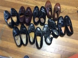 Men's shoes. Various sizes. All of these shoes are size 12
