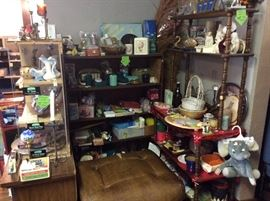Decorative items priced to sell quickly