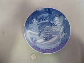 Bing & Grondahl Decorative Plates