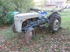 1940s Ford 8N Tractor