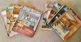 VINTAGE 50'S - 60'S HOUSE BEAUTIFUL MAGAZINES