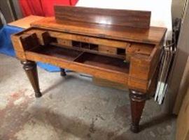 Antique Jacobean Style Desk