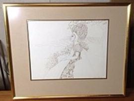 Colleen McLean Original Pen And Ink