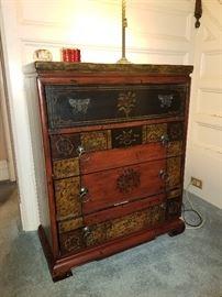 very unique accent storage, dresser, tv stand