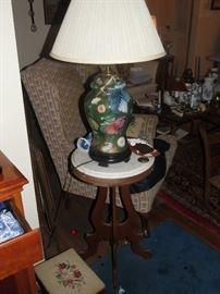 DECOPAGE LAMP.
