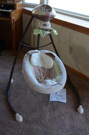 Fisher-Price My Little Snugabunny Baby Swing