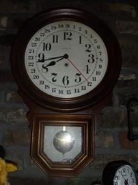 Barwick wind up wall clock