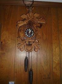 black forest cuckoo  clock W.Germany