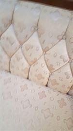 Fabric on sofa
