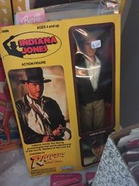 In box 1981 Indiana Jones doll