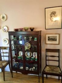 Curios Filled With Fine Antiques