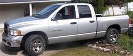 2005 Dodge 1500 pick up truck  ( Not included in daily discounts) 206,000 might. Runs great.