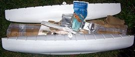 Canoe stabilizing kit (never used)