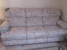 La-Z-Boy Sofa with tags still on.  Looks comfy!