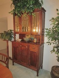 Beautiful antique China cabinet.