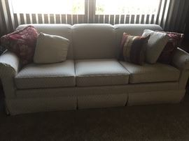 Beautiful sofa and matching chair - pristine condition!