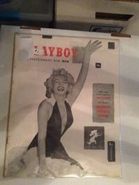 Collection of Playboy Magazines - Marilyn Monroe
