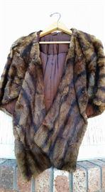 Vintage Fur Cape/ Stole