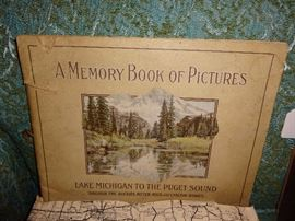 Old picture book w/great pics of Cascade Moutains