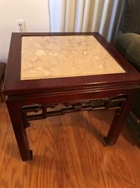 Asian Marble Top Tables