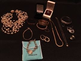 Women's Jewelry including Antique Bangles, Tiffany and More!