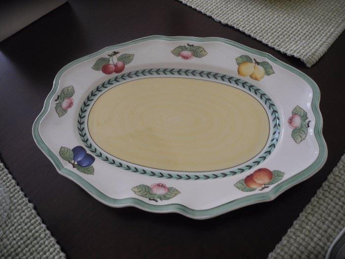Platter - French Garden