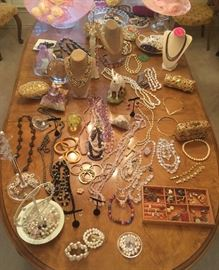 Jewelry &  Beautiful Hat Collection