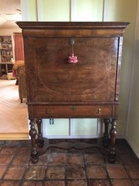 Chippendale desk front view