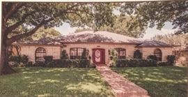 Classic 3,000 square foot Traditional Home in the Hunters Glen section of Plano, TX close to Hughston Elementary & the park