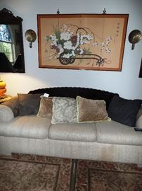 Comfortable entry couch, two available