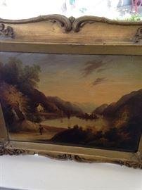 More antique framed art