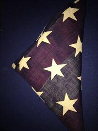Rare 46 star U.S. flag